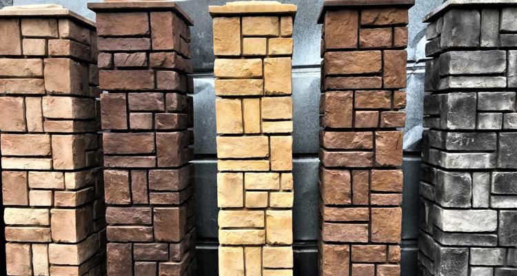 Изготовление декоративных заборных блоков в Мытищах